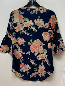 Rue 21 Floral Top - Bkue