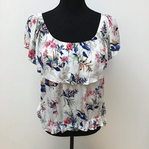 American Eagle floral print top XL