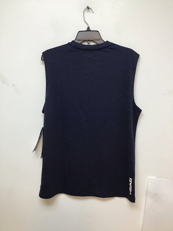 Head backspin sleeveless navy heather