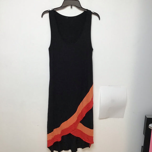 Unbranded Black tank dress peach size large
