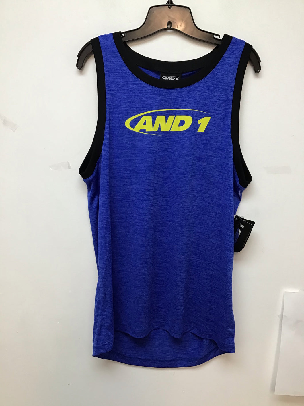 And 1 bully sleeveless top vital blue heather