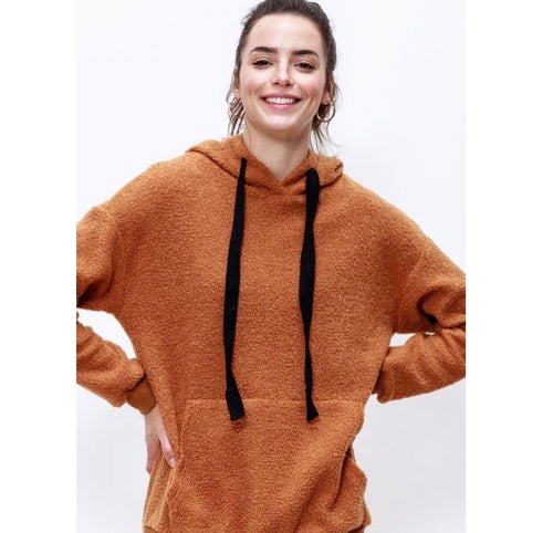 Mitto Shop Front Pocketed Hoodie