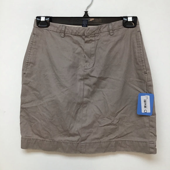 Gap beige skirt size 0