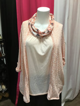 Faded glory women's plus size top with scarf 2X
