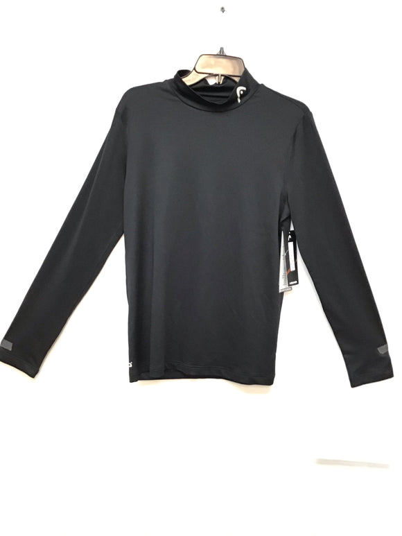 Head L/S training mock black