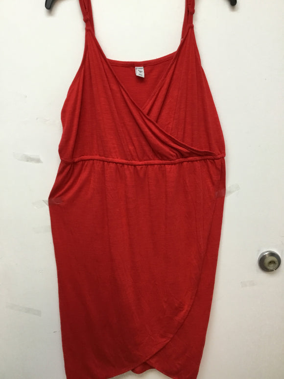 Old Navy red dress size 2X 70% modal 30% polyester