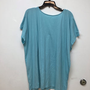Basic Editions teal top size 2X