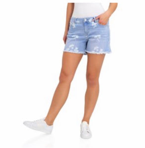 Jordache Women's Boyfriend Shorts