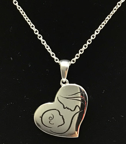 Mother and Child Pendent