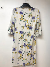 American Living Floral Print Ruffle-Sleeve Dress - Size 8