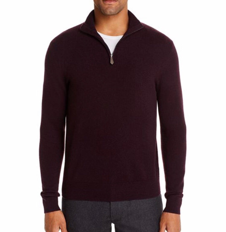 The Men's Store Bloomingdales Half-zip Sweater