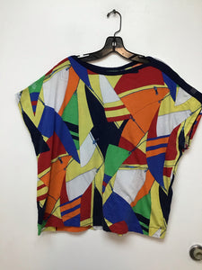 Ralph Lauren colorful top 2X