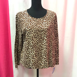 Charter Club Women's Leopard print - XL