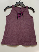 Poof Girl Sleeveless top - Berry