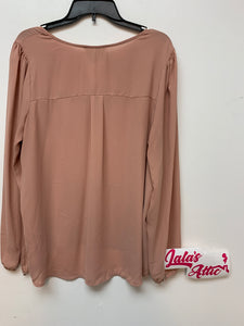 Forever 21 Plus Sizes Pink Top