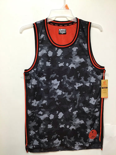 And 1 mesh jersey Camo Black/Red