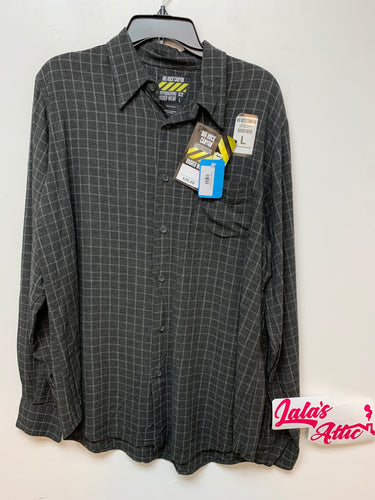 Big Rock Canyon Gray Button Up