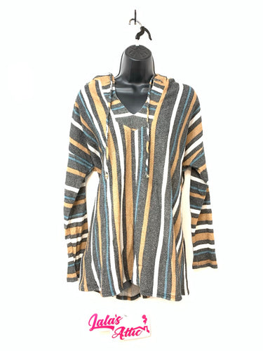 MTS MULTI-STRIPED HOODIE