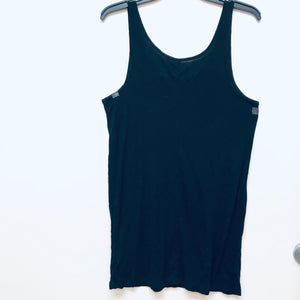 Mossimo Black Tank Top - XXL