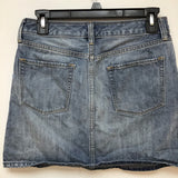 Gap jean skirt size 2