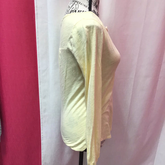 Lucky Brand yellow top X Small