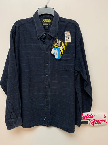 Big Rock Canyon Blue Striped Shirt