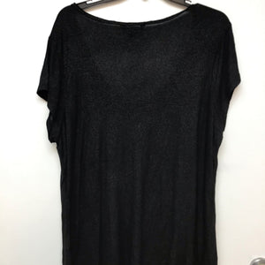 Rock & Republic Black shimmer blouse size 1X