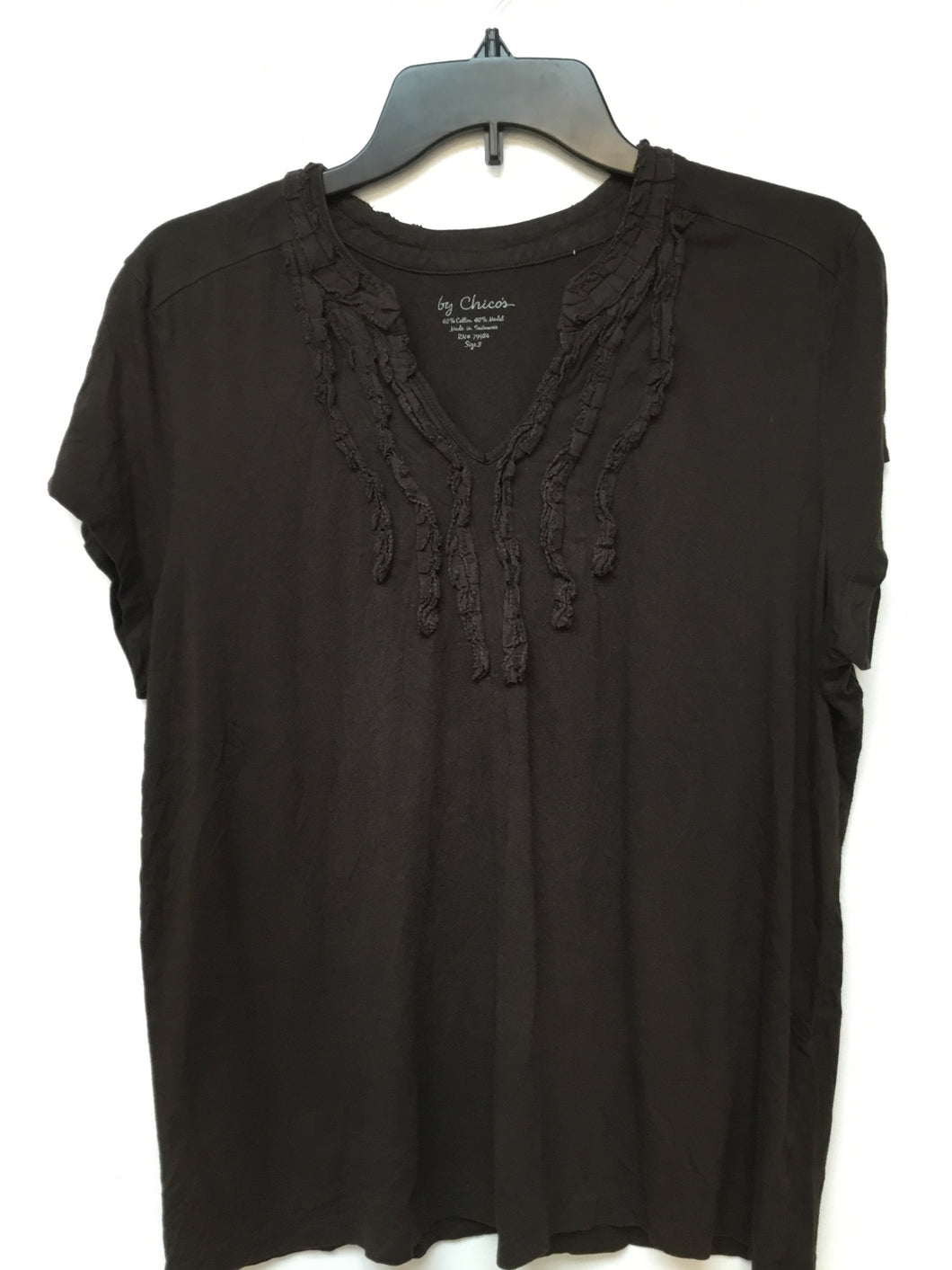 By Chico's brown top size 3X