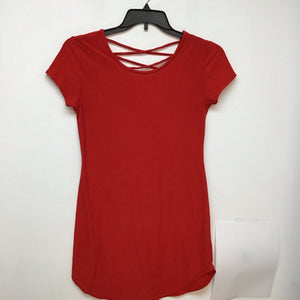No boundaries red dress size large
