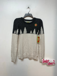 Holiday Arcade Girl Christmas Sweater