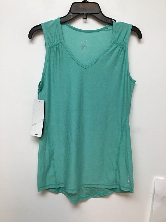 Head Brianna Shirred Tank head turquoise heather