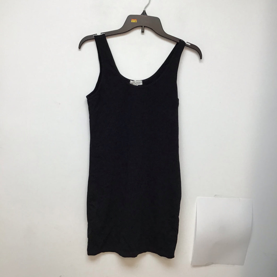 Forever 21 black tank dress size medium