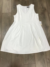 Teeze Me off white plus size V-neck & Flare dress size 20