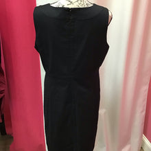 Banana Republic stretch black dress sleeves size 12