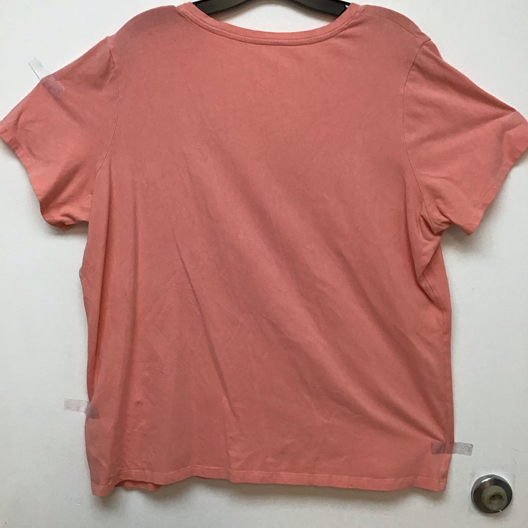 Lord & Taylor peach top size 2X