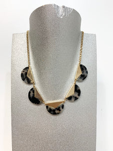 Sarina Marble Printed Necklace