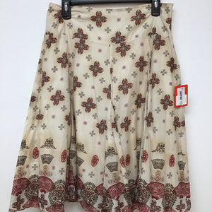John Paul Richards print skirt size small