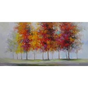 Tablou pictat manual Fall 60x120cm - naru.ro