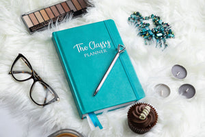 The Turquoise Classy Planner - Undated Diary