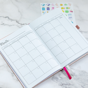 Weekly & Monthly Planner
