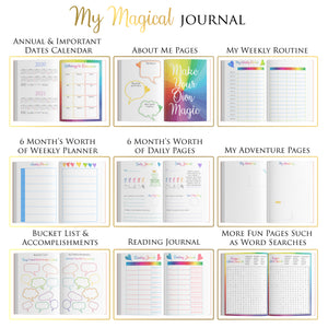 Daily Journal for Kids - My Magical Journal