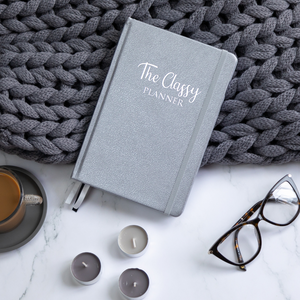 The Silver Classy Planner - Undated Diary