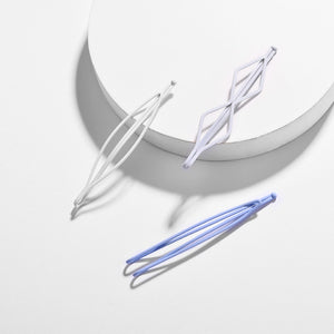 Lunar Set Geometric Hair Pins (Set of 3)