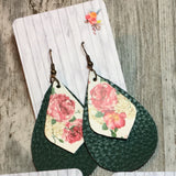 Summer Faux Leather Dangles