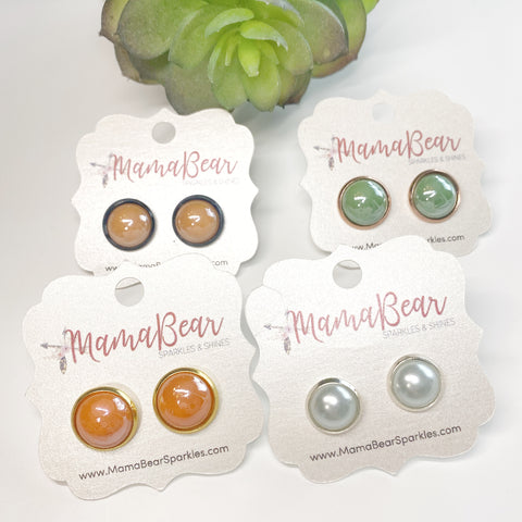 Pearly Bliss Studs