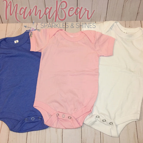 Custom MamBear~Baby Bodysuit {Bella+Canvas}