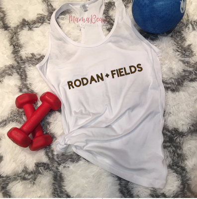 Ladies' Custom RODAN + FIELDS Racerback Tank