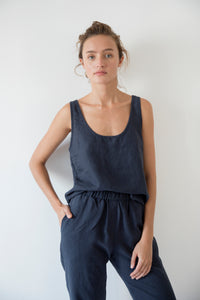 TANK-TOP, MIDNIGHT BLUE