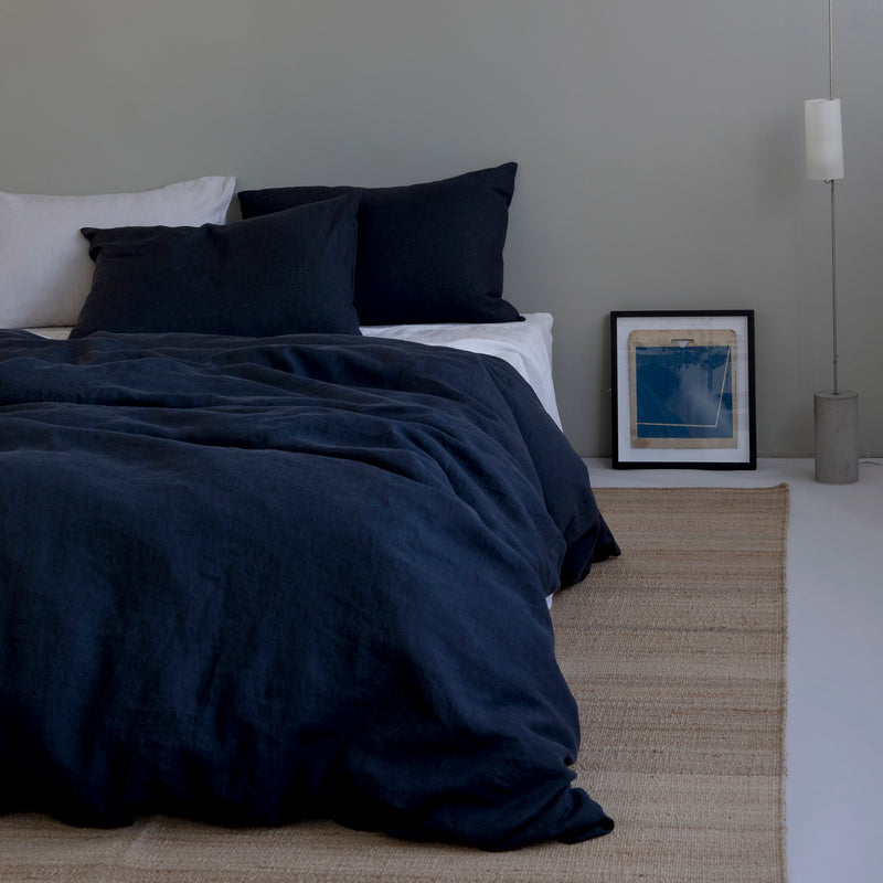 BED SET, NAVY