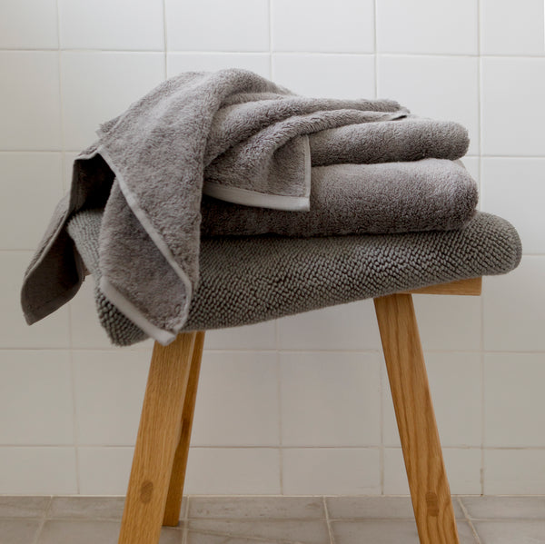 ORGANIC COTTON TOWEL, DARK GRAY